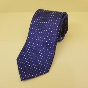 Tommy Hilfiger blue silk tie